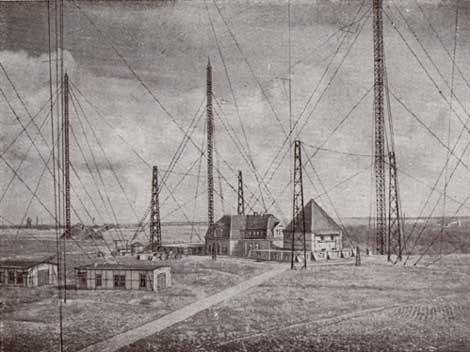 An der Wiege des Rundfunks